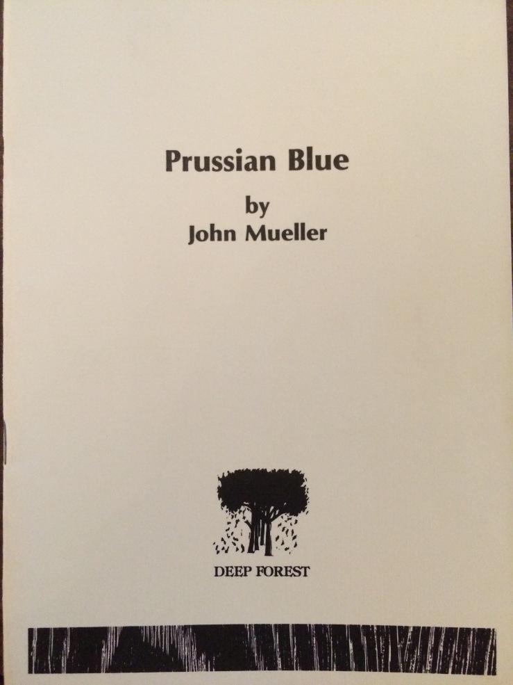 Jack Mueller Prussian Blue
