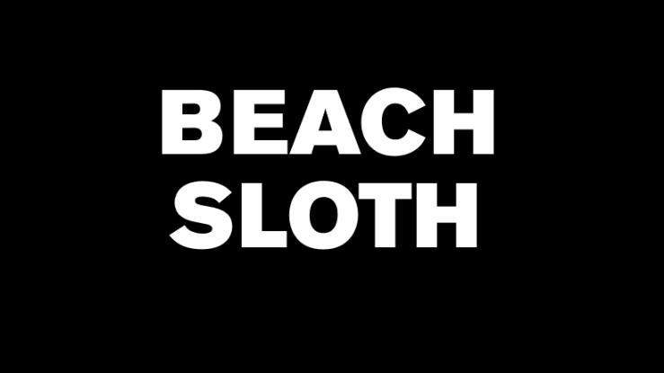 Beach-Sloth